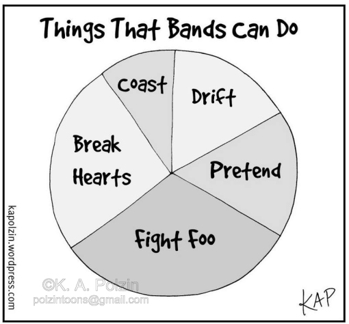 Things That Bands Can Do