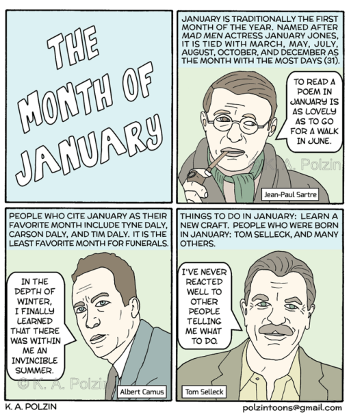 The Month of January watermarked