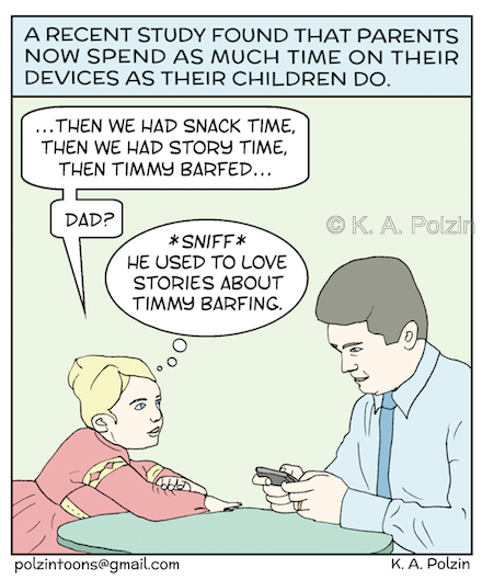 Parents & their Devices, KA Polzin watermarked